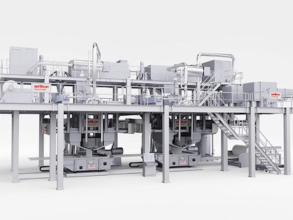 Oerlikon Nonwoven meltblown technology is recognized in the market as the technically most efficient method for producing high-efficiency filter media from synthetic fibers (c) 2020 Oerlikon