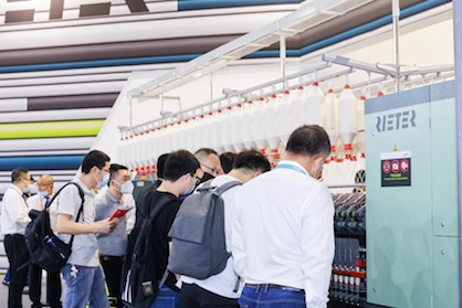 Rieter booth (c) 2020 ITMA Asia + CITME 2020 / ITMA Services   / Beijing Textile Machinery International Exhibition Company