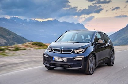 The BMW i3 the largest-volume production car ever to extensively use composites for emission-free mobility (c) 2018 BMW AG
