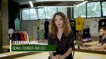 Catarina Lopes, Founder and CEO of the brand's eco-conscious NÜWA division (c) 2020 Calvin / Kornit