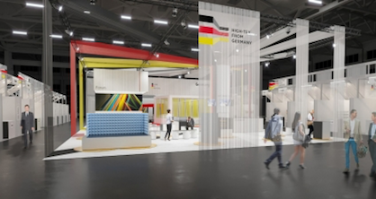 Hightex-from Germany' presents textile innovations from Germany (c) gtp2 Architekten