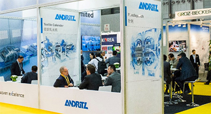 ANDRITZ Nonwoven has seen rapid growth in China in recent years (c) 2018 Messe Frankfurt