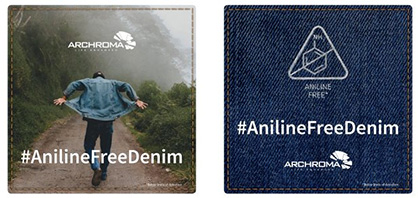 Archroma breaks new ground with new aniline-free* indigo for denim. (Photo/Photographs: Archroma or Company)