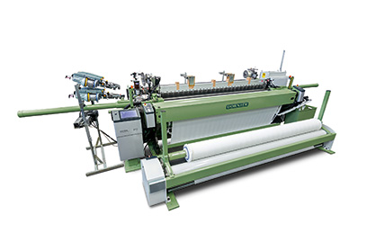 Seamless transition: The new generation of rapier weaving machines, the P2 TGP will be make its Asian premiere at ITMA Asia