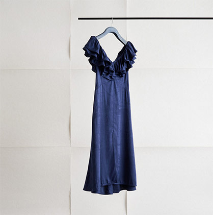 Dress from H&M Conscious Exclusive SS20 made of Renewcell's Circulose®. Image: Renewcell/Alexander Donka