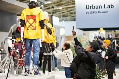 Meeting place for designers and creative people: the Urban Lab Image credit: ISPO