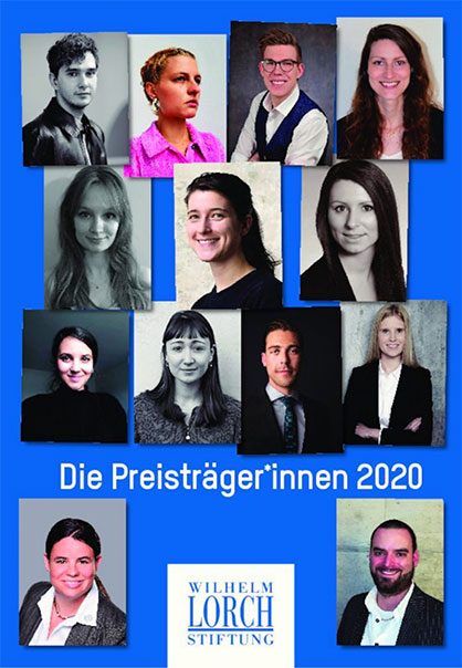 Wilhelm-Lorch-Stiftung sponsorship award winner picture 2020 (Ricarda Wissel: row 1, first from right, Simon Kammler, row 4, first from right), source: Wilhelm-Lorch-Stiftung