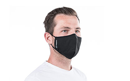 Man with face mask, source: Livinguard