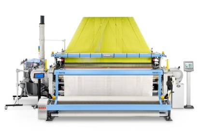 New Itema R9500 Airbag OPW: Sturdy structure and reinforced machine's components optimized to weave heavy and sophisticated technical fabrics (c) 2017 Itema