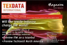 The cover of issue 3/4 of the TexData Magazine