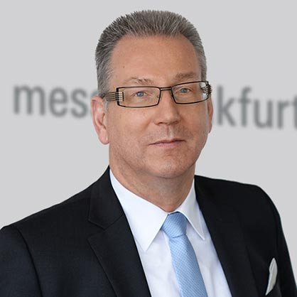 """Microfactories represent the progressive way of making textile processing quicker, more flexible and more sustainable"".  – Michael Jänecke, responsible for Messe Frankfurt's Brand Management Technical Textiles and Textile Processing. © Messe Frankfurt GmbH"