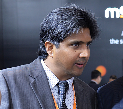 Vinod Krishnamurthy is in charge of sales and services for Mouvent in India (c) 2018 Mouvent
