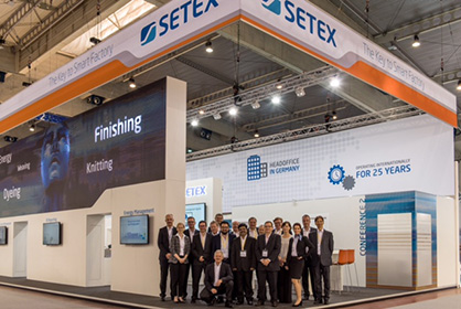 A strong SETEX team, including colleagues from overseas offices and service centers worldwide. (c) 2019 Setex