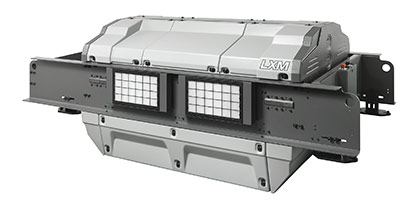 LXM electronic Jacquard machine - Available in formats up to 5,376 hooks © 2021 Staeubli