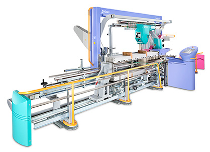 SAFIR S60 automatic drawing-in machine featuring AWC and ICS technology © 2020 Staeublli