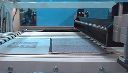 ES Automatex provides automated cutting, sewing and folding equipment solutions © 2021 TMAS