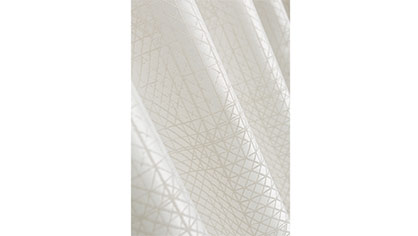 © JAB Josef Anstoetz KG: 9-7924 ICE CRYSTAL, 300 cm high, 100% polyester Trevira CS, available in 8 colours