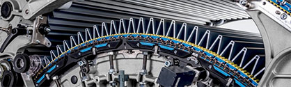 The TC 19i with T-GO gap optimizer allows for significant quality and productivity leaps which reduce the energy demand per kilogram of card sliver. © 2021 Truetzschler