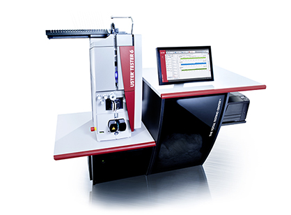 (c) 2019 - USTER® TESTER 6  - the latest edition of the legendary Uster Technologies instrument - still keeps on improving, with innovative solutions to keep pace with latest industry trends